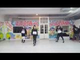 VK mirrored dance practice SIXBOMB Wait 10 Years Baby