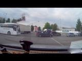 Авария на перекрестке г. Дзержинский присту эпилепсии у водилы фуры