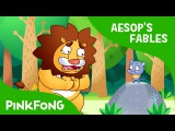 The Lion and the Mouse Aesop's Fables PINKFONG Story Time for Children