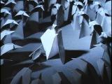 АДАЖИО. Бумажные фигурки. Мультфильм Гарри Бардина. 2000г