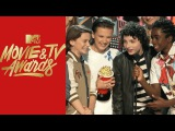 'Stranger Things' Cast Accepts the Award For Show of the Year | MTV Movie & TV Awards