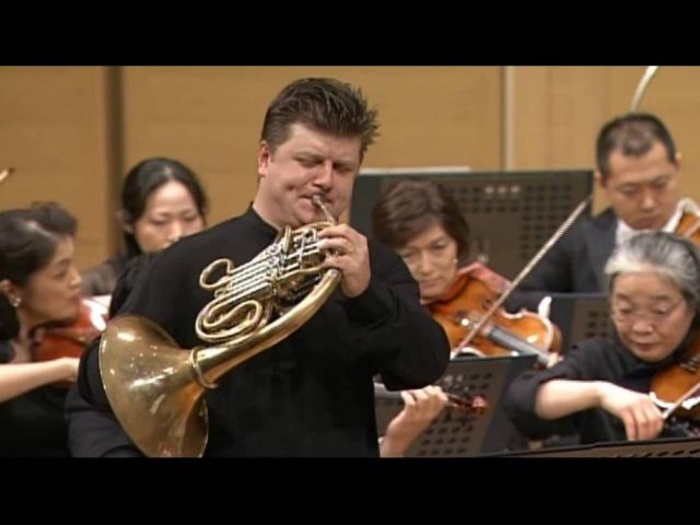 Mozart Horn Concerto No 2 E flat major K 417 Radek Baborák Seiji Ozawa Mito Chamber