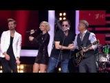 Дима Билан, Григорий Лепс, Полина Гагарина, и Леонид Агутин - Gimme All Your Lovin (Голос 5)