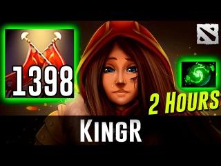 1398 Damage Legion KingR 2 Hours of Dota 2