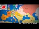 Как менялась территория границ России за последних 1000 лет.