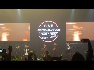 20170509 B.A.P Bang*2 + That's My Jam + Do What I Feel + Dancing In The Rain + ment 1 + Lucky fan Ivent + Jongup's Solo (Try My Luck)