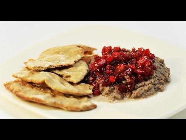 Галета с паштетом из говяжьего сердца и вареньем из яблок | Субпродукты