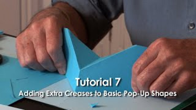 Pop-Up Tutorial 7 - Adding Extra Creases to Basic Pop-Up Shapes - Part 1