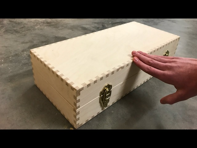 Can you finger joint all sides of a box