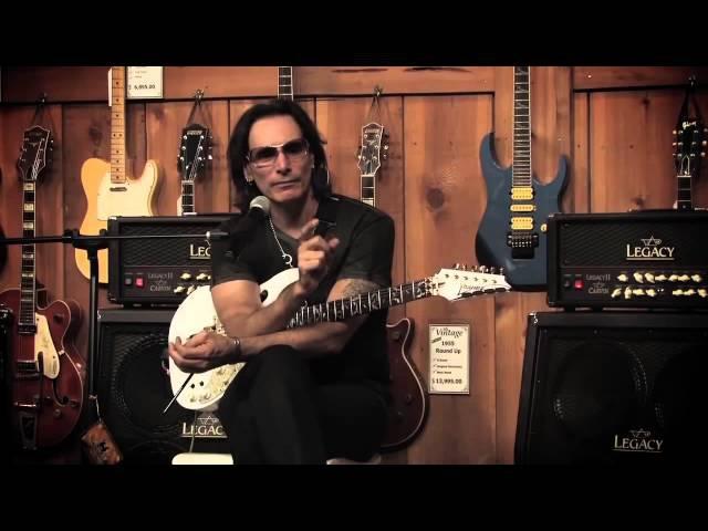 Steve Vai - Мотивирующее интервью   Guitar-Online.ru