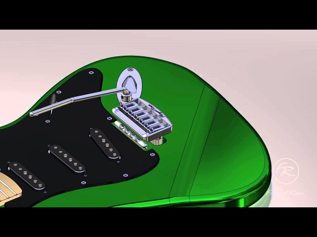 NEW Floyd Rose Rail Tail Tremolo Overview