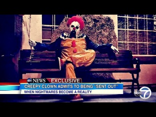 Creepy Clown Unmasked : The Bizarre Truth Behind the Creepy Clown Sightings EXPOSED!