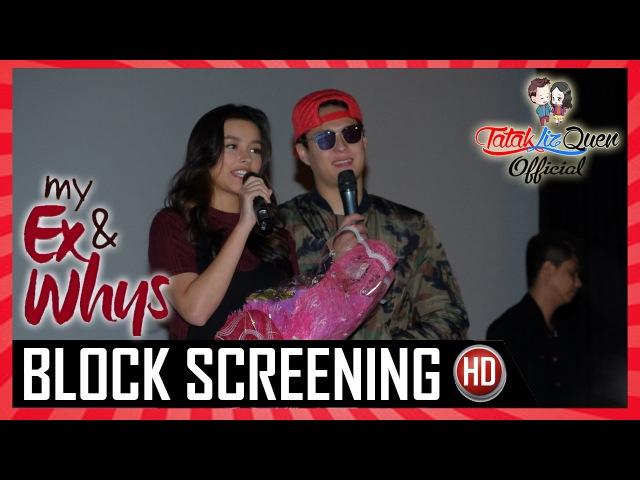 My Ex and Whys Block Screening Event Highlights | Tatak LizQuen