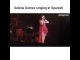 Селена поет на испанском  selena's babes