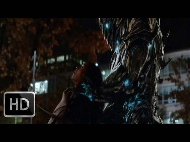 Флэш переносится в будущее и видит как Савитар убивает Айрис   Флэш (3х09) HD