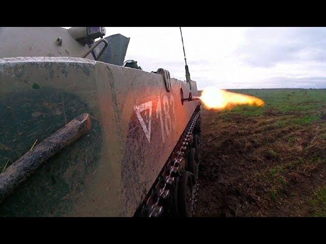 Огневое противостояние «диверсантов» и бойцов ВДВ уникальные кадры с учений «Запад-2017