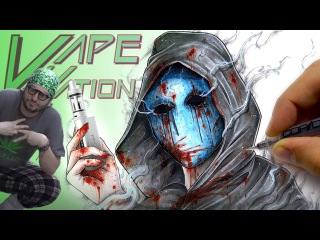Eyeless Jack - Creepypasta Drawing (Vape Nation Edition)