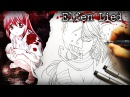 Disturbing but Awesome Anime Elfen Lied - DRAWING