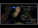 [SFM] Five Nights at Freddy's - Hidden Lore