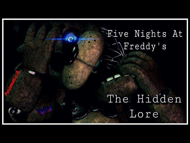 SFM Five Nights at Freddy's Hidden Lore