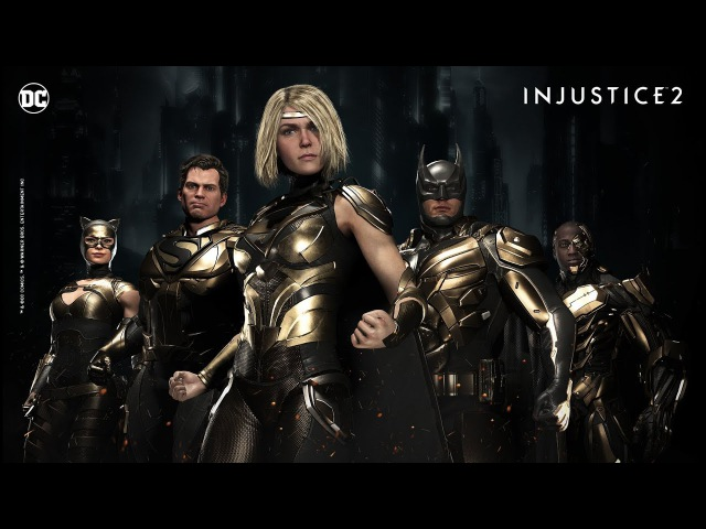 Injustice 2 - Tournament Shaders!