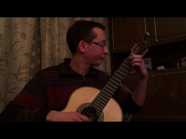 J. S Bach - Suite for Lute in E minor BWV 996 Bourre | Исполняет: Ученик (Андрей Кольго)