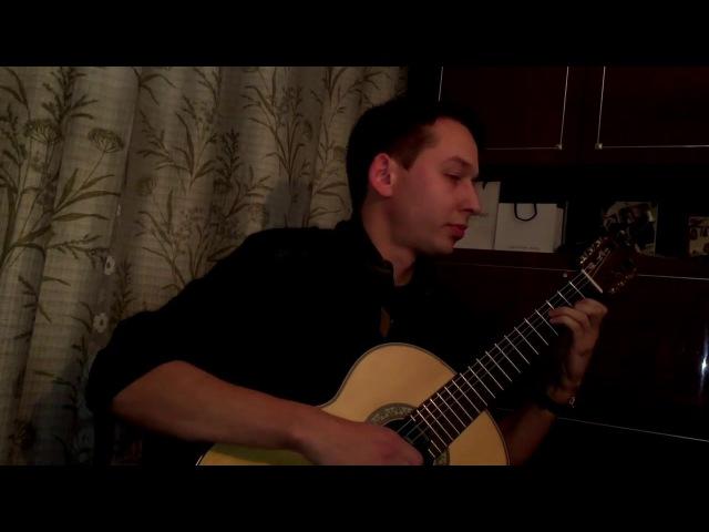 Fernando Sor - Study in B minor, Op 35, No 22 - Исполняет: Ученик (Андрей Кольго)