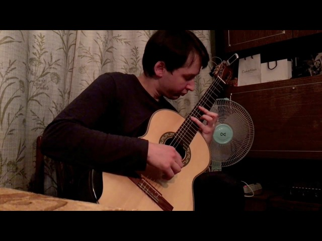 J.S Bach - Prelude for Lute, BWV 999, Guitar Transcription in Dm | Играет: Ученик (Андрей Кольго)