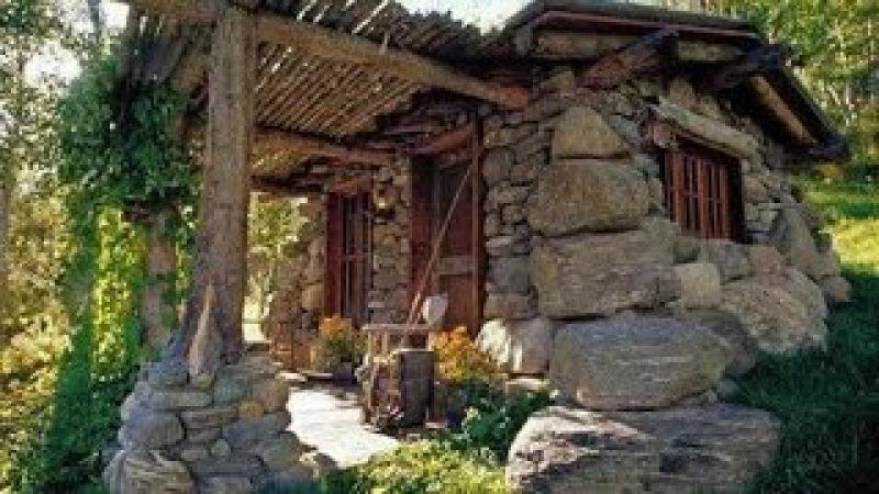 Decoración con piedras. Construcciones antiguas y modernas video 1 de 2