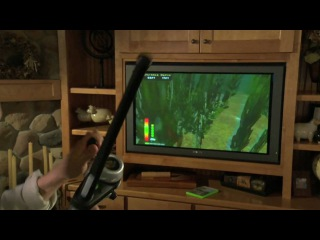 The Strike (Xbox 360, Wii, PC) game trailer and fishing rod controller