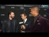 Chris Evans &amp Jeremy Renner Talk Taylor Swift and Beyonc