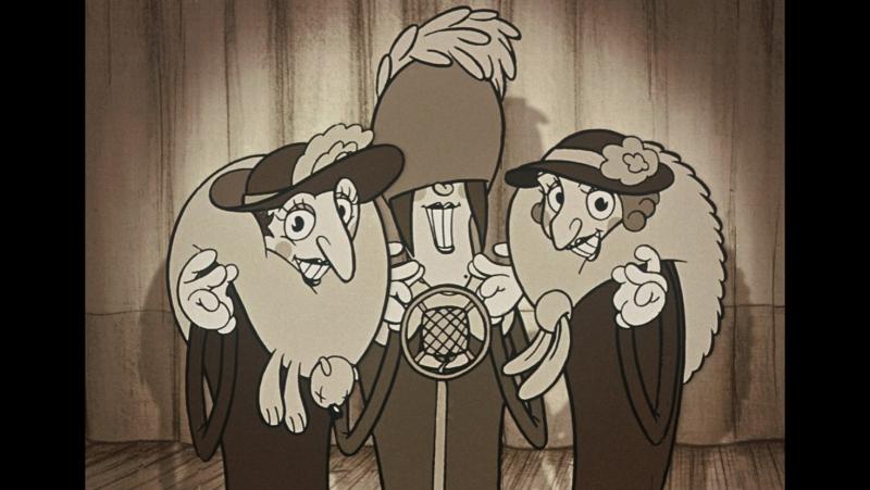 Belleville Rendez-vous (Les Triplettes de Belleville, 2003)