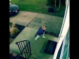 Четырехлетнюю девочку унесло порывом ветра