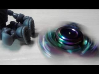 спиннер CKF rainbow EDC titanium (жалкая подделка)