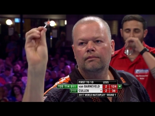 Raymond van Barneveld vs Joe Cullen (PDC World Matchplay 2017 / Round 1)