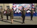 Коллектив эстрадного и народного танца Калинка, патриотический военный танец