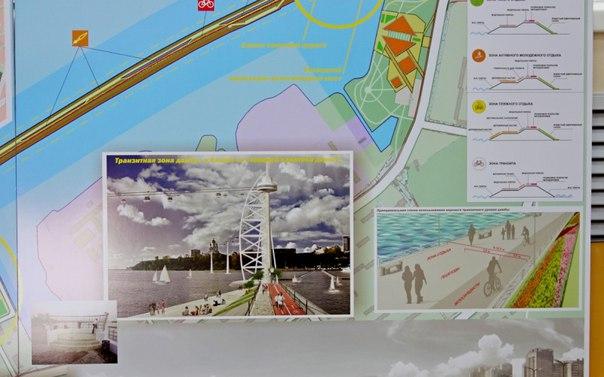 Канатная дорога, пристань и велодорожки могут появиться на хабаровской дамбе