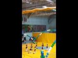 Гимнастическая платформа.Окружные соревновнования 9-11 лет
