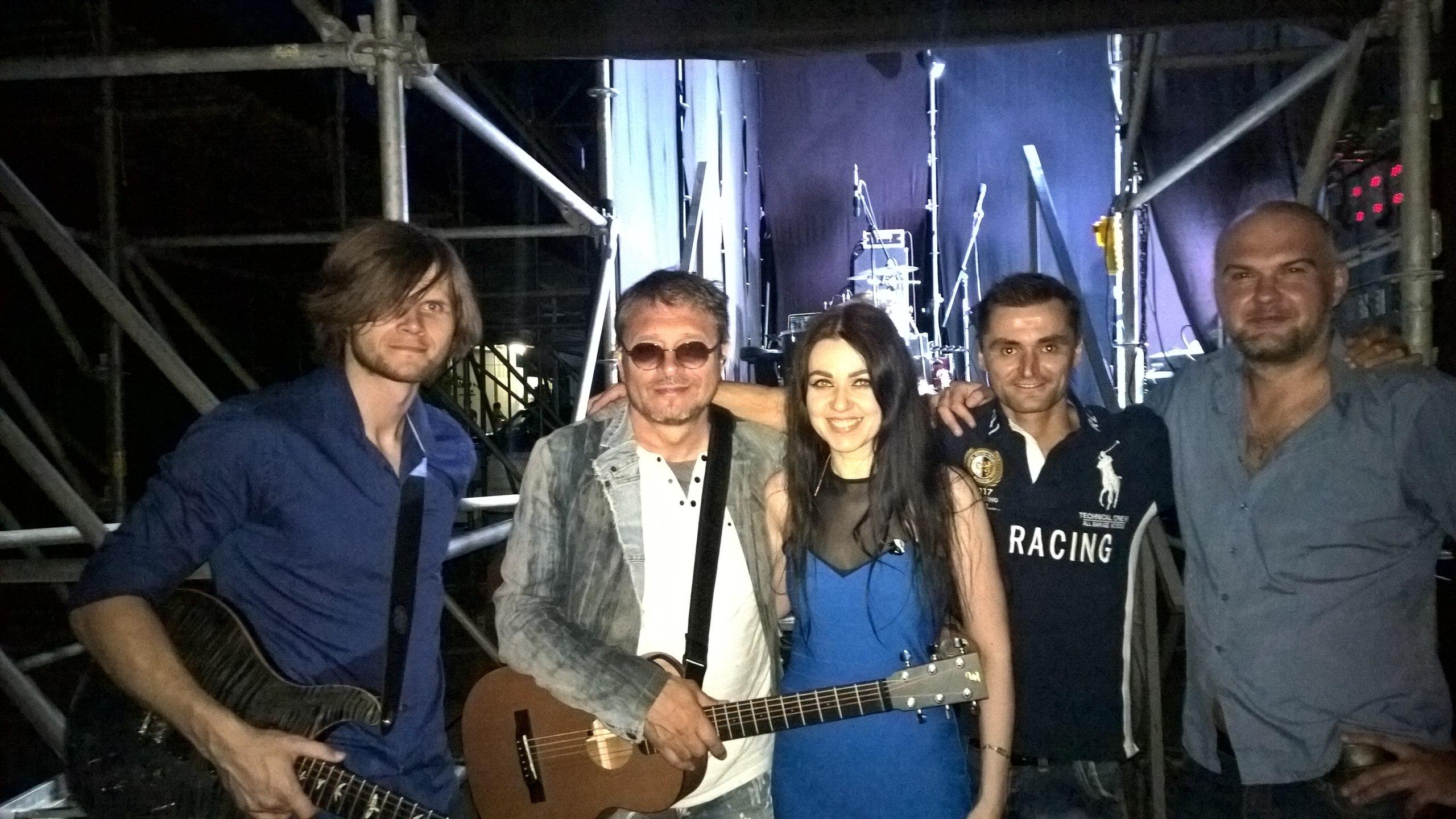 """Группа """"Таврика"""" выступила на фестивале """"In Vino Veritas"""" в Коктебеле"""