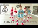HARLEEN JOKER'S dance studio FUNKY MONKEY crew