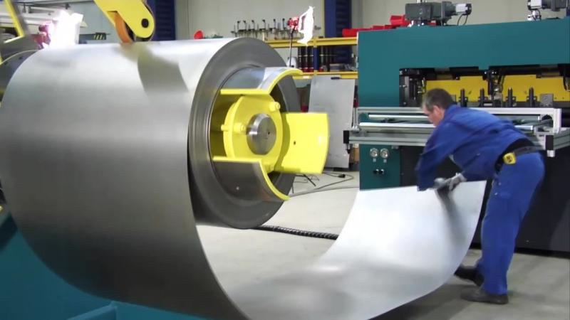 Изготовление просечно вытяжного листа из стали