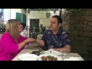 Гарик Мартиросян спорит с женой о кубке Лиги Европы