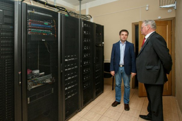 Хабаровский суперкомпьютер