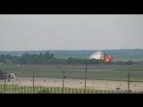 Момент падения самолета Ан–26 в Саратовской области попал на видео