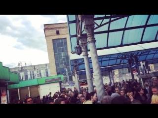 Ярославский вокзал после урагана опаздывают электрички🚉🙄
