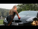 Juli Firso and Nissan GT R Backstage 2 MADS Girls Cars auto секс эротика sex erotic sexy