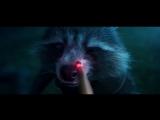 Ракета мочит опустошителей в лесу - Стражи Галактики. Часть 2 [ marvel комиксы енот фильм 2017]