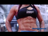 Female Muscle At The Olympia Expo 2016(диагноз-спорт)