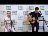 Sabrina Carpenter спела кавер песни Dua Lipa - New Rules в акустике (Elvis Duran Live)