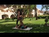 Египет акро-йога